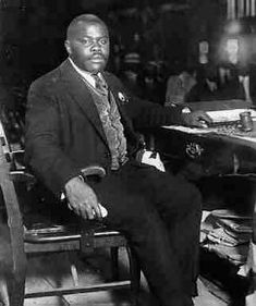 On August 1, 1914, Marcus Garvey founded the Universal Negro Improvement Association (UNIA) and brought it to the United States two years later. The UNIA started its Negro World Magazine in 1918 and the Black Star Line in 1919, launching the S. S. Frederick Douglass. There were reputed to be 4 million members in over 700 branches. #TodayInBlackHistory