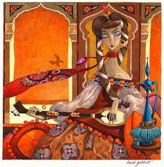 Complex illustrations by David Galchutt | ART BLOG MarkovArt