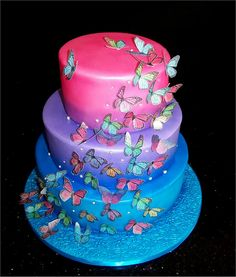 1000 images about airbrushed cakes on pinterest for Airbrush cake decoration