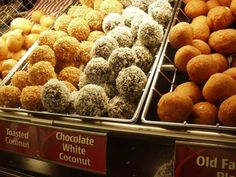 Timbit: a donut hole from Tim Hortons or from any other restaurant in Canada.