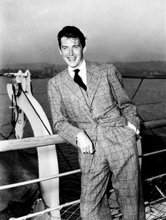 without a doubt 1 of the best actors & Americans. Not to mention Super Handsome. (May 1908 - July Hollywood Icons, Hollywood Actor, Golden Age Of Hollywood, Vintage Hollywood, Hollywood Glamour, Hollywood Stars, Classic Hollywood, Vintage Vogue, Actrices Hollywood