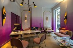 Idol Hotel: a mid-century oasis in the heart of Paris