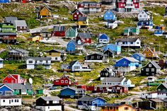 Greenland. I want to go so bad after seeing The Secret Life of Walter Mitty. So beautiful.