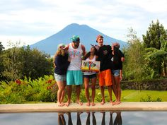 First Annual Serengetee Campus Rep. The top reps from the past semesters hanging out in Guatemala.