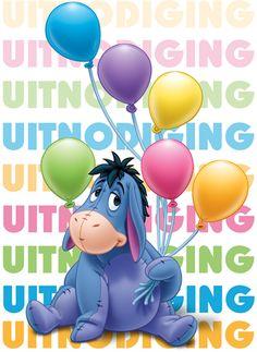 Nodig al je vriendjes en vriendinnetjes uit met de leukste Disney-figuren voor een spetterend feestje!  #hallmark #uitnodiging #winniethepooh