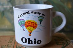 1980's Ohio Ceramic Souvenir Mug by ValsVintageShoppe on Etsy, $6.00