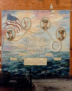 When a German U-boat torpedoed the USAT Dorchester in 1943, four chaplains-George L. Fox, Gilman, Vt., Methodist; Clark V. Poling, Schenectady, N.Y., Dutch Reformed; Alexander D. Goode, York, Jewish; and John P. Washington, Arlington, N.J., Catholic-were among the 670 dead. The religious leaders relinquished their seats in lifeboats and removed their life jackets to give to four sailors. Survivors recall seeing the chaplains with arms linked and hearing them pray together as the ship went…