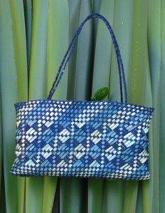 Kete Whakairo - Shades of Blue