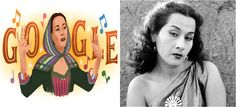Google dedica logotipo de su portada a la cantante peruana Yma Sumac