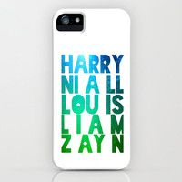 One Direction names iPhone case