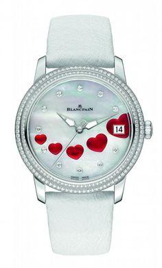 """blancpain san valentino 2013 fronte 450x747 Un Blancpain con 14 cuori per dire """"ti amo"""" a San Valentino!"""