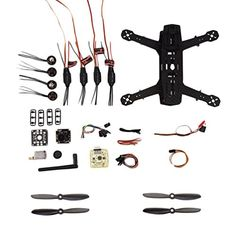 OCDAY 250 Racing Quadcopter ,DIY Carbon Fiber Frame Kit with Camera & Transmitter >>> Check this awesome product by going to the link at the image.