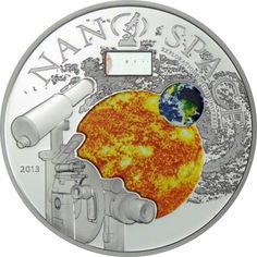 10 Dollar Silber Nano Space PP