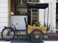 1杯1000円でも高くない!? 「コールドプレスジュース」大増殖の理由 - ボトリングし、自転車で移動販売も 日経トレンディネット