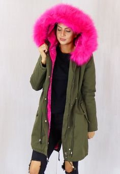 Abbie Oversized Faux Fur Trim
