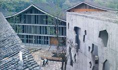 Wencun village, China. Wang Shu architect