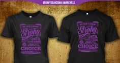 Get this Leiomyosarcoma Awareness T-Shirt. A quality keepsake that's cool enough to wear every day! Makes a great gift for yourself or someone you love.