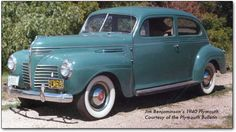 1940 Plymouth.