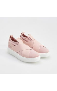 Light pink SLIP ON shoes, Shoes, pink, RESERVED