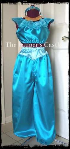 DELUXE - Girls/Child's Disney Princess Jasmine Dress / Costume
