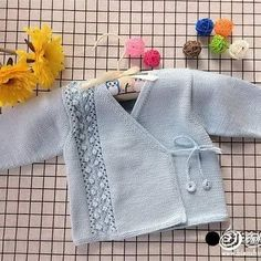 Knitted Baby Cardigan, Baby Knitting, Pullover, Photo And Video, Sweaters, Instagram, Fashion, Bebe, Tricot
