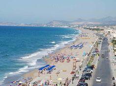 Rethymnon Beach Rethymnon Crete Greece