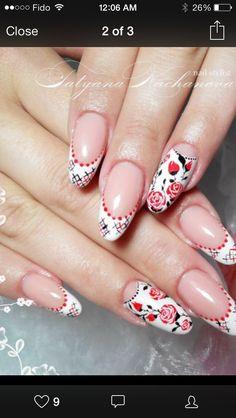 Ukraine nail art