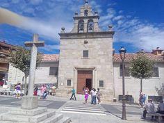 Ermita del Santísimo Cristo de Gracia en Las Navas del Marqués, Ávila, España