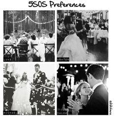 """5SOS Preferences: Your black and white Wedding Photo"" by kikitara on Polyvore"