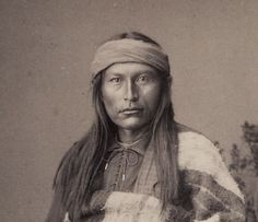 Young Cochise, Apache leader. Dear God his son Naiche looks just like him!
