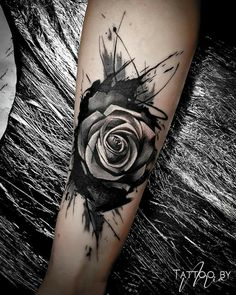 Forearm Cover Up Tattoos, Flower Cover Up Tattoos, Wrist Tattoo Cover Up, Best Cover Up Tattoos, Black Tattoo Cover Up, Arm Tattoo, Body Art Tattoos, Cool Tattoos, Cover Up Tattoos For Men Arm