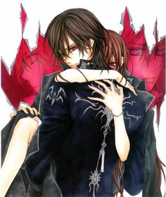 Kaname Kuran and Yuuki Kuran from Vampire Knight ♥