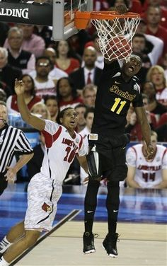 Wichita State Shockers vs. Louisville Cardinals - NCAA Tournament Game - Photos - April 06, 2013 - ESPN Cleanthony Early