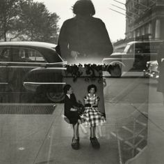 Vivian Maier. Self-portrait, New York, 1954