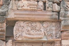 Image from http://previews.123rf.com/images/atthameeni/atthameeni1212/atthameeni121200125/17010579-The-Reclining-Vishnu-beautiful-stone-carving-lintel-at-the-main-sanctuary-of-Phanom-Rung-Khmer-templ-Stock-Photo.jpg.