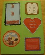 10 Commandments lapbook