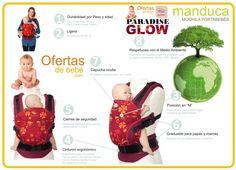 ventajas mochilas-portabebés-manduca-paradise-edicion-limitada-glow-roja-donde-comprar-precios