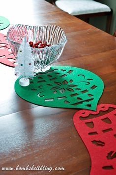 Christmas Table Runner
