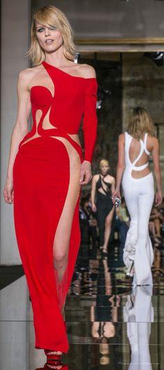 Glamour Gowns / karen cox. Versace Spring 2015