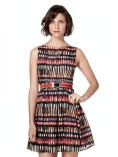 African Print Dress by Wren #MyBrahminStyle
