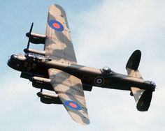 Detailed image of the Avro Lancaster Four-Engined Heavy Bomber & Reconnaissance Aircraft Aircraft Photos, Ww2 Aircraft, Military Aircraft, Stirling, Lancaster Bomber, Lancaster Plane, Air Force, Ww2 Planes, Vampire