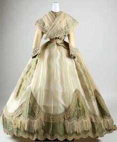 Vestido século XIX .