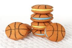 Basketball Cookies! Delicious Desserts for March Madness