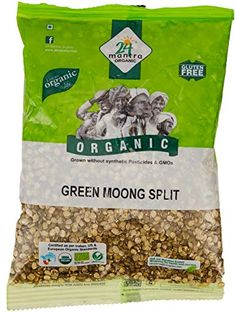 24 Mantra Organic Green Split Moong Dal Note: The Product will be dispatched within 2 to 3 Business Days. Grow Organic, Organic Recipes, Tasty, Green, How To Make, Content, Cook, Dishes, Products