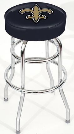 Use this Exclusive coupon code: PINFIVE to receive an additional 5% off the New Orleans Saints Bar Stool at SportsFansPlus.com