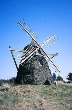 Denmark's only heather clad mill located at Green Beach