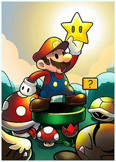 #Super #Mario #Fan #Art.