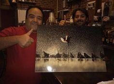Antonio Fernández Rodríguez ya tiene su #momenTACO de la fotaca de Mario Cea Sanchez en casa. Muchas gracias a todos por participar y a #Photo3 por colaborar para poderos regalar la foto. No os olvidéis que dentro de muy poco volveremos con más sorteos de fotografías de nuestros distribuidores en soporte de impresión momenTACO.