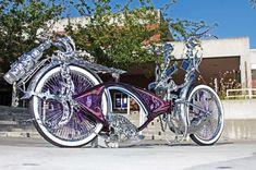 001 1967 schwinn bicycle lowrider bicycle - fucking witt it! Arte Lowrider, Lowrider Bicycle, Bicycle Women, Bicycle Girl, Sidecar, Mongoose Mountain Bike, Velo Retro, Stunt Bike, Cars