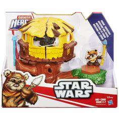 Playskool Heroes Star Wars Galactic Heroes Endor Adventure Habro Action Figure #Playskool